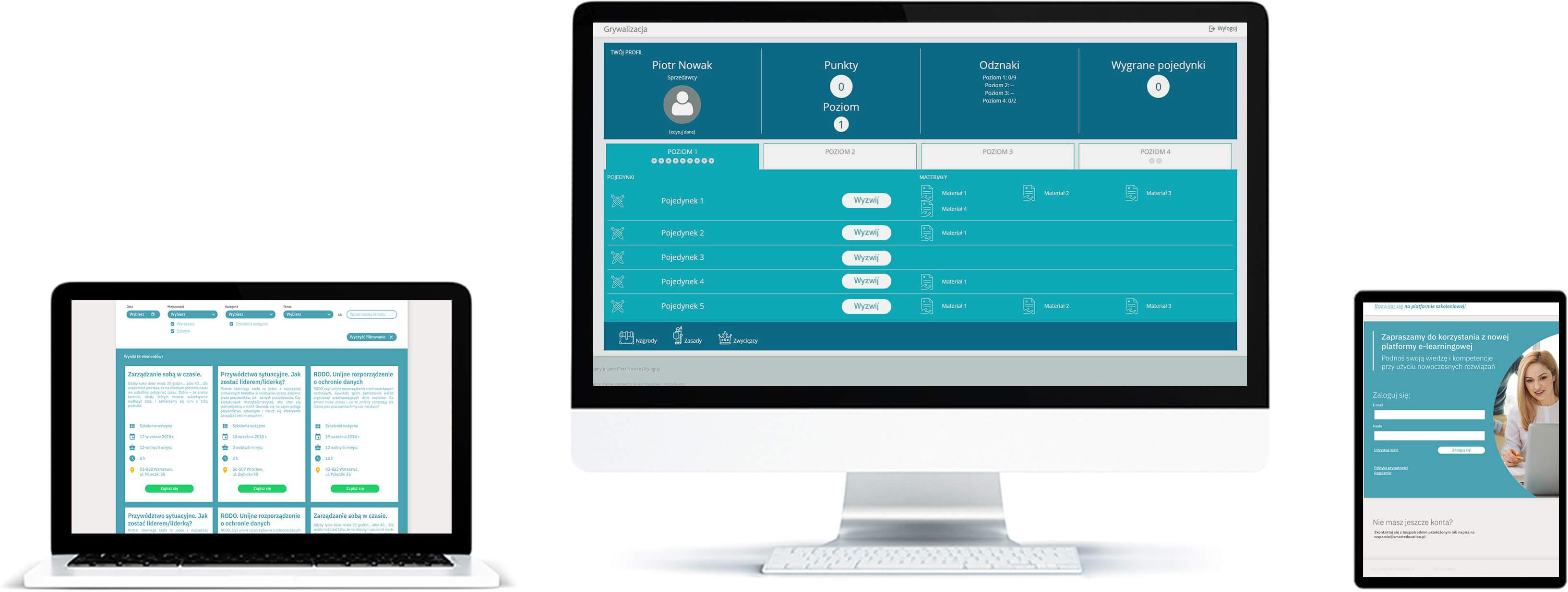 Quizowanie - sprawdzenie wiedzy pracowników - platforma online