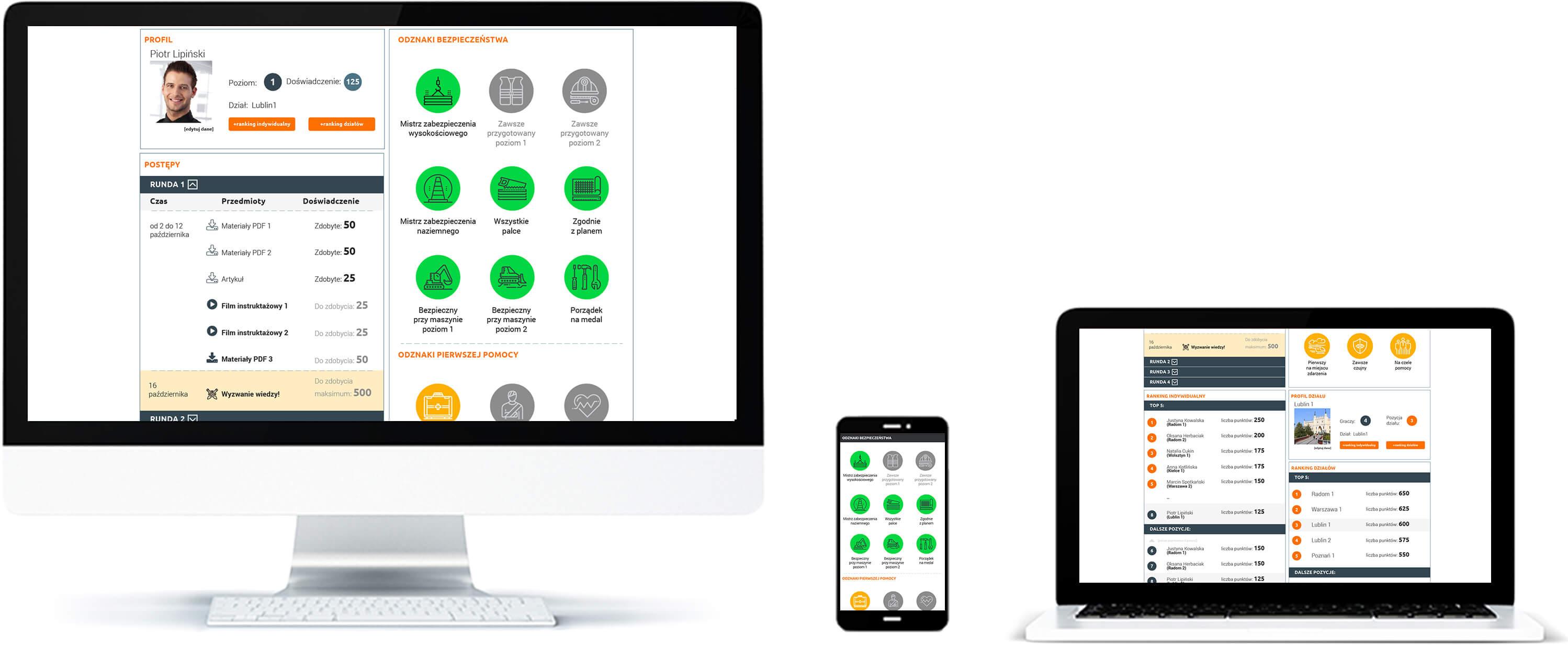 Platforma z testami wiedzy dla firm i organizacji