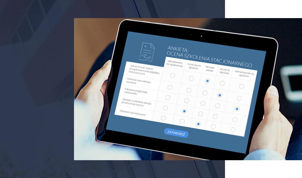 Ankiety - system wspomagający e-learning w smarteducation