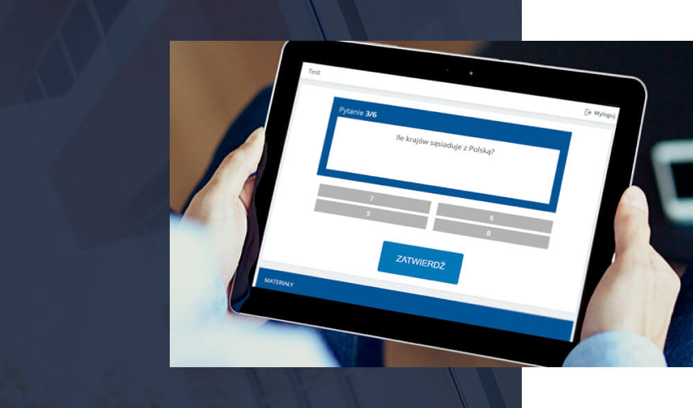 Platforma e-learningowa z testami wiedzy dla firm i organizacji