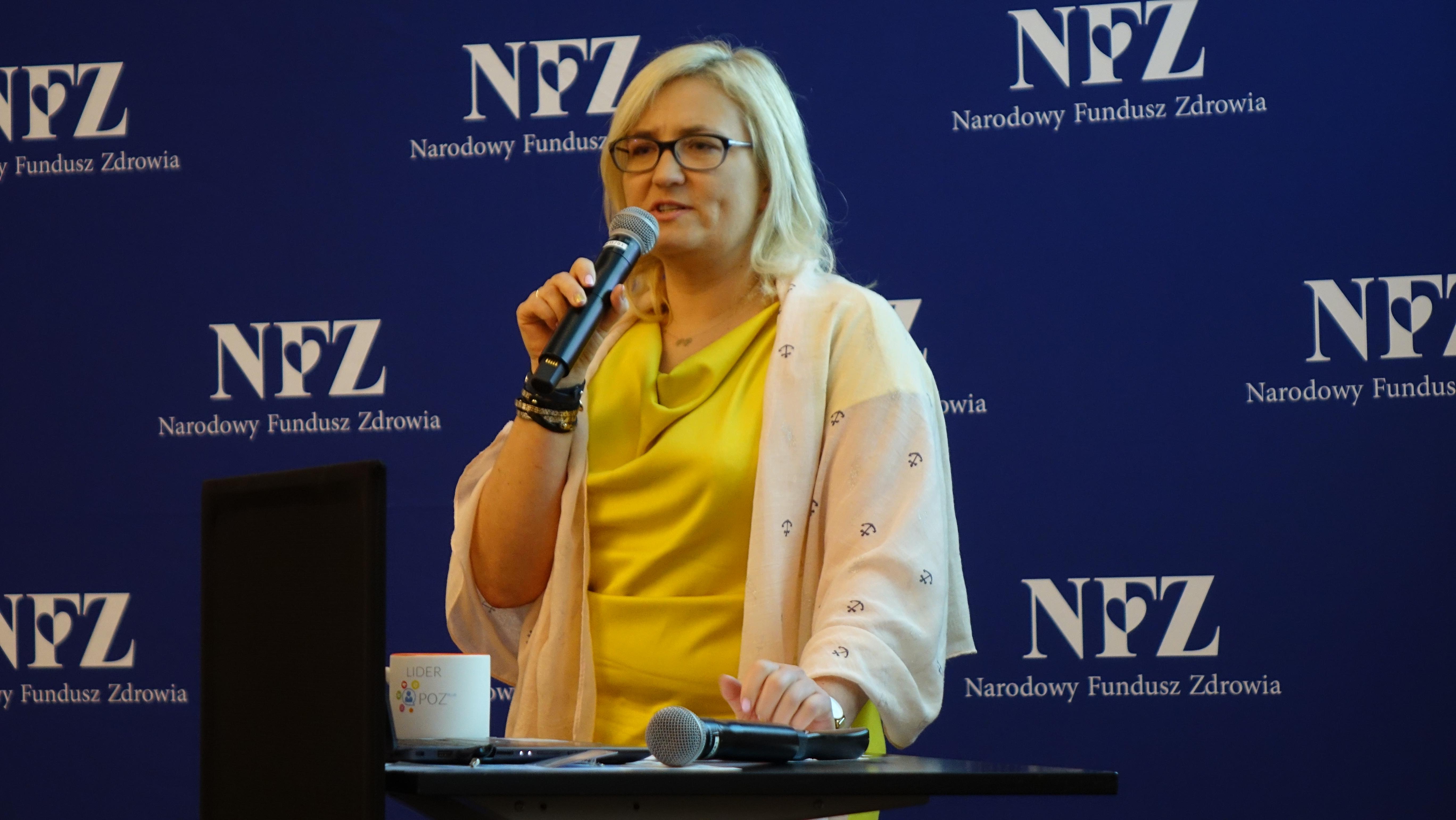 Katarzyna Wiktorzak, Kierownik Projektu - Narodowy Fundusz Zdrowia