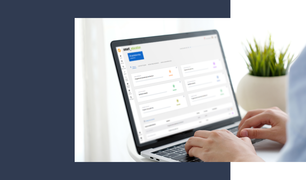 time tracker - platforma e-learningowa