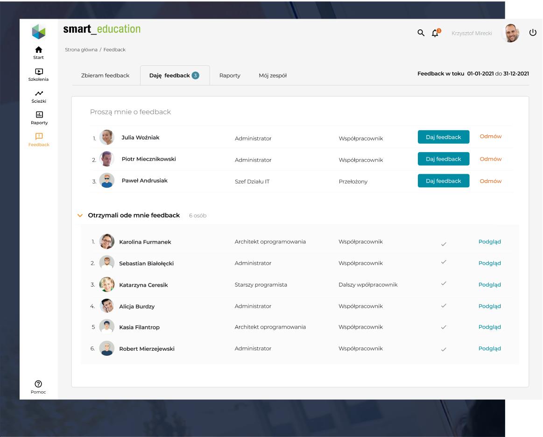 Ocena pracownicza Smart Education - przeprowadź ocenę pracowników, tak jak potrzebujesz
